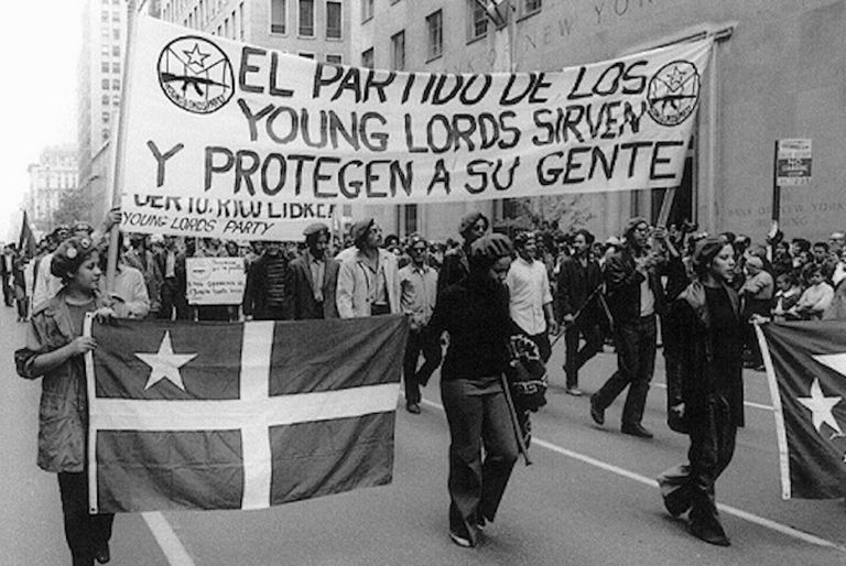 Young Lords march image