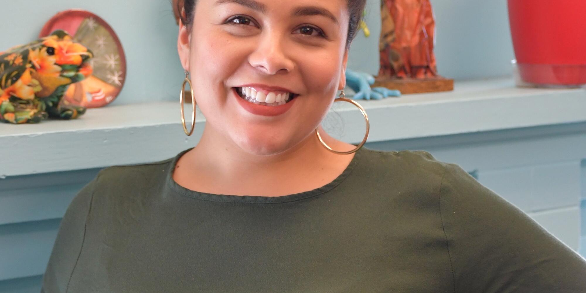 portrait of Monica Gonzalez Ybarra